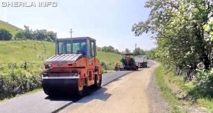 asfaltare asfalt drum sosea iclod alunis cluj