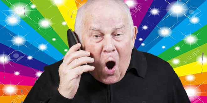 batran telefon