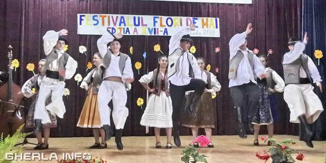 bontida festival flori de mai dansuri populare