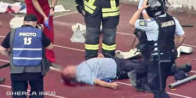 jandarm ranit u cluj fotbal meci