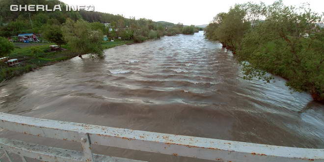 somesul mic gherla inundatie cluj