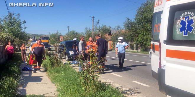 accident iclod ambulanta politie biciclist