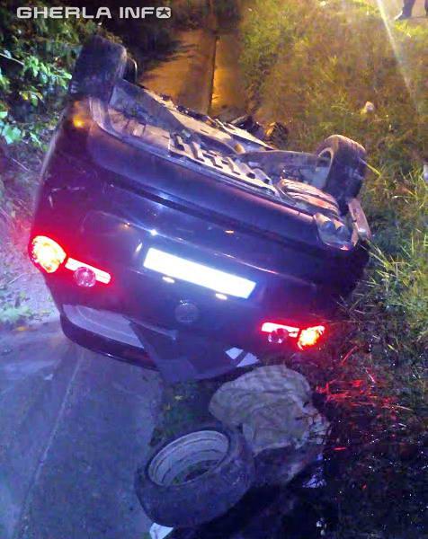 accident dej masina rasturnata