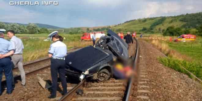 accident masina cale ferata garbau cluj cfr