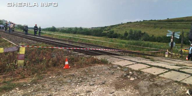 accident tren mortal garbau cluj