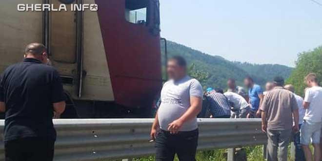 accident tren nepos bistrita nasaud