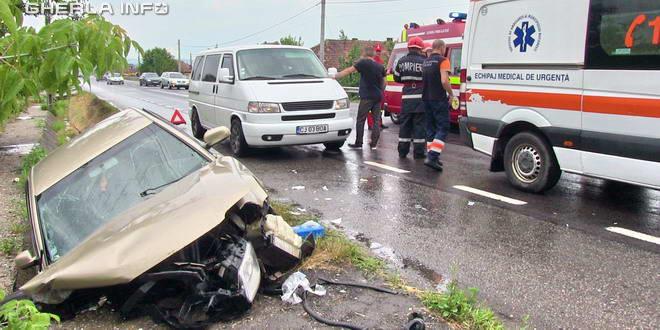 accident volkswagen maramures dej sant cluj