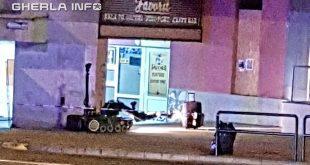 colet suspect robot targu mures