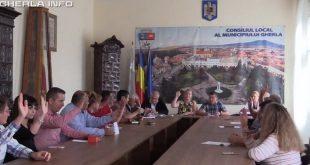 consiliul local gherla vot sedinta
