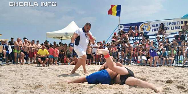 lupte plaja