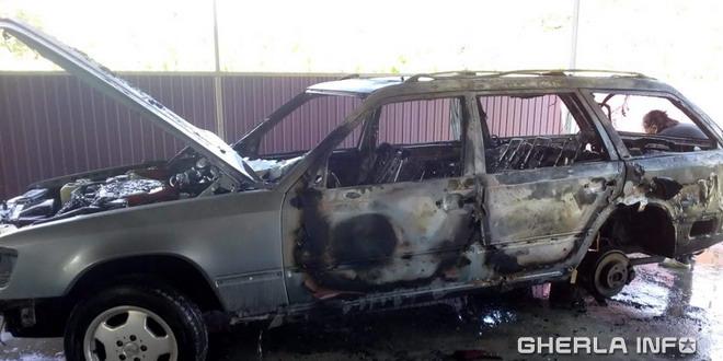 masina incendiu
