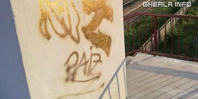 pod gara gherla graffiti