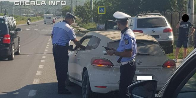 politie control soferi cluj