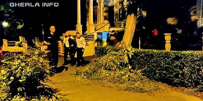 politie noapte biserica furt gherla