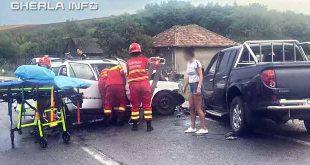 accident corpadea pompieri