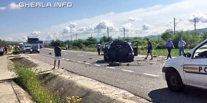 accident livada cluj politie