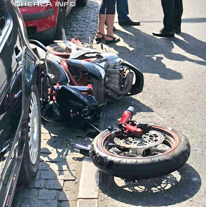 accident motocicleta cluj