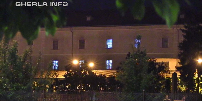 gherla penitenciar noapte