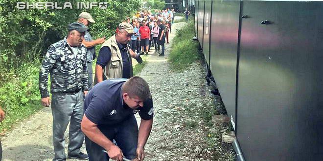 tren deraiat mocanita valea vaserului