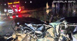 accident catina valea calda masina pompieri noapte