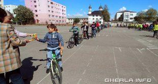 copii bicicleta scoala 1 gherla