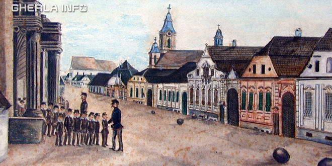 gherla pictura 1870