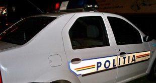politie masina noapte