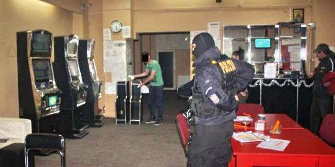sala jocuri mascat politie