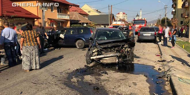 accident gherla strada hasdatii