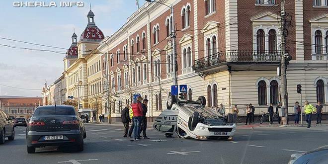 accident cluj politie