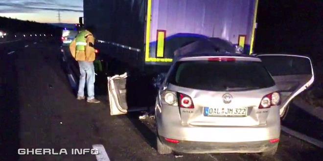 accident tir cluj a3 volkswagen tir