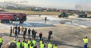 aeroport cluj exercitiu elicopter pompieri