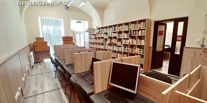 biblioteca gherla