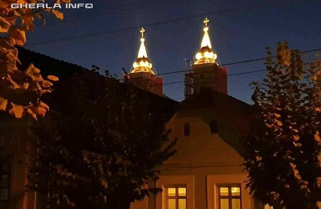 biserica franciscana lumini gherla szamosujvar