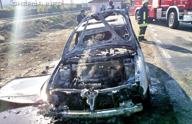 masina incendiu apahida sannicoara cluj