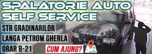 spalatorie auto self service gherla petrom