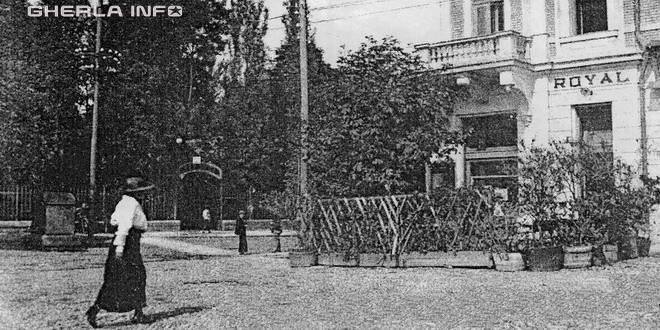 1929 gherla primarie parc szmaosujvar