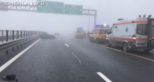 accident autostrada a3 turda cluj smurd