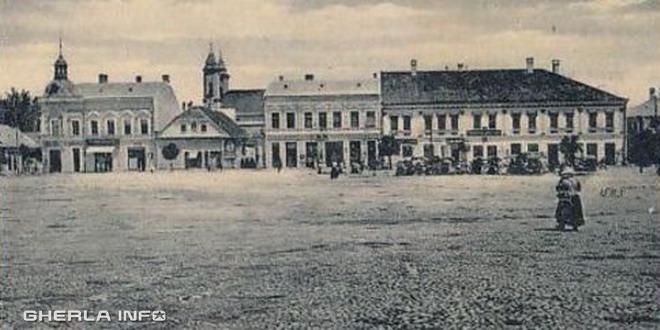 gherla 1910 szamosujvar piata centru pietruit