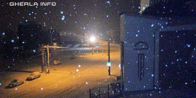 gherla ninsoare strada clujului