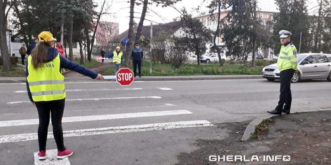 patrula scolara politie gherla