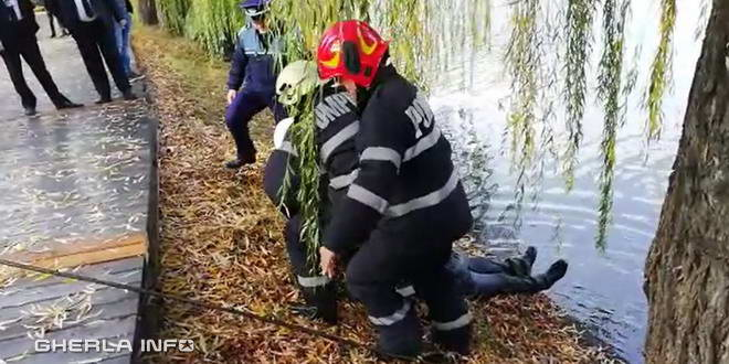 pompieri lac mall cluj inecata2