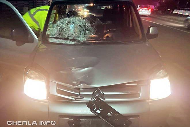 accident cluj sannicoara apahida citroen politist