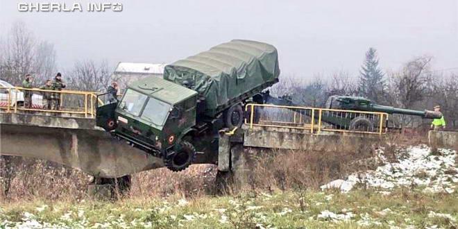 camion armata dej accident dej