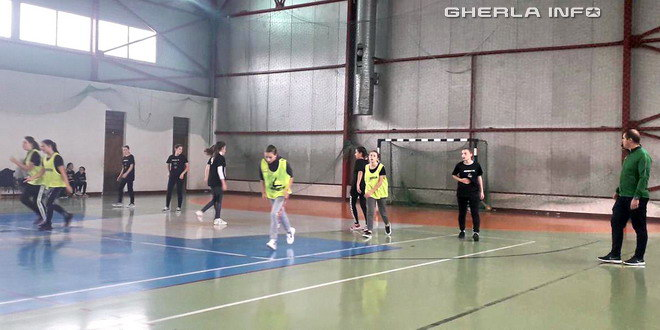 handbal gimnaziu gherla
