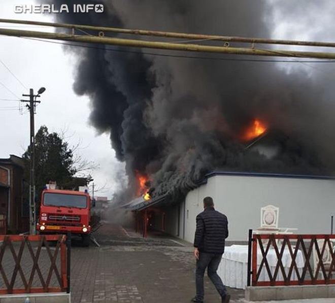 incendiu gherla sala angela rusu