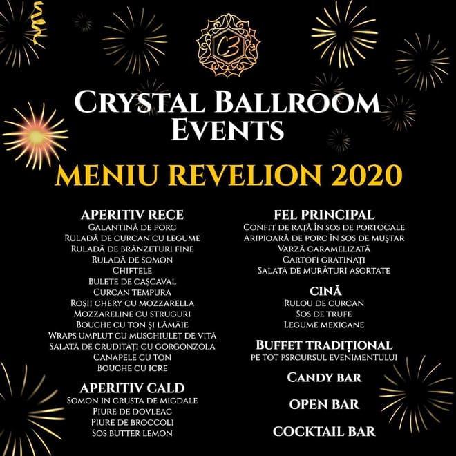revelion 2020 crystal ballroom gherla