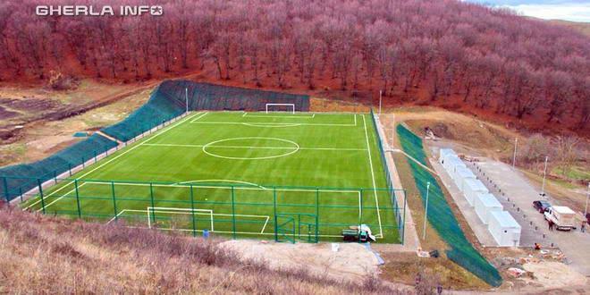 teren fotbal vistea jucu