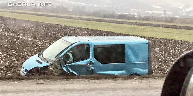 accident gherla masina camp