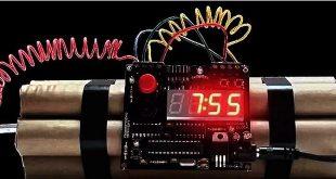 bomba ceas explozibil
